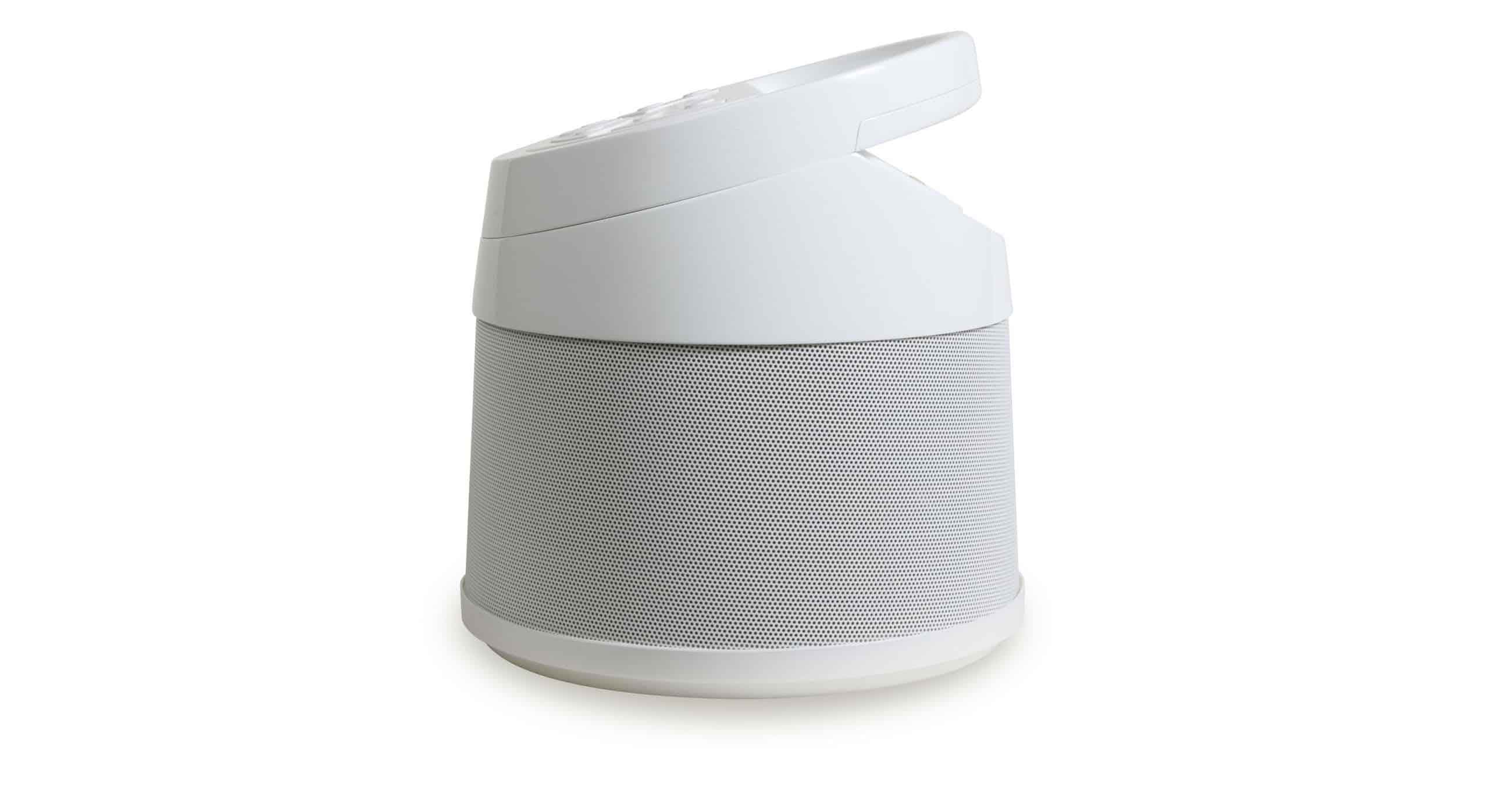 half Soundcast Speaker White Background
