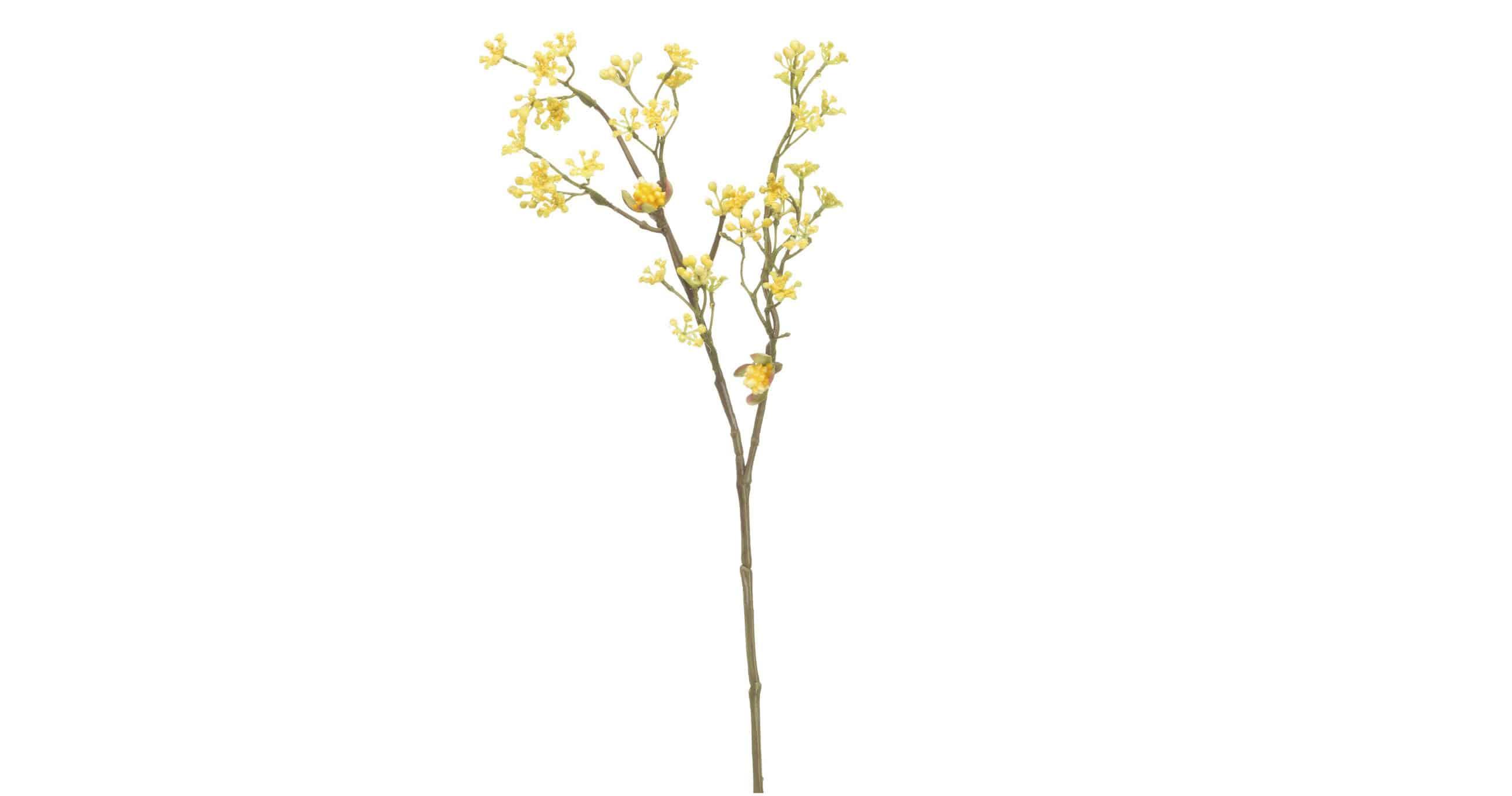 Yellow petals Silk-la stunning flowers for indoor and outdoor decoration
